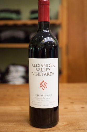 Cabernet franc, Alexander Valley Vineyards, Sonoma, California