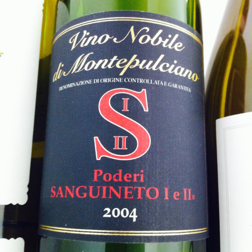 Poderi Sanguineto I & II, Vino Nobile di Montepulciano