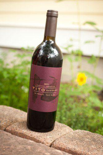 2011 Zuccardi Tito Red, Argentina, Malbec, red wine