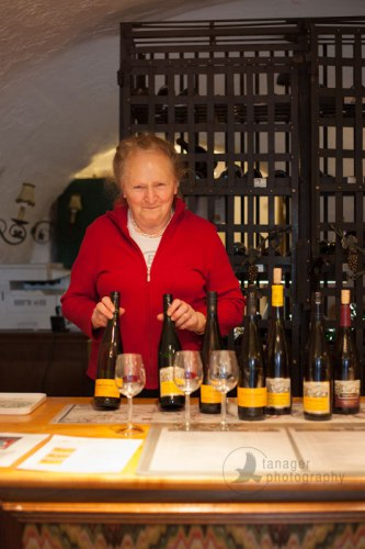 Wine tasting at Dr. Pauly Bergweiler, Bernkastel-Keus, Germany