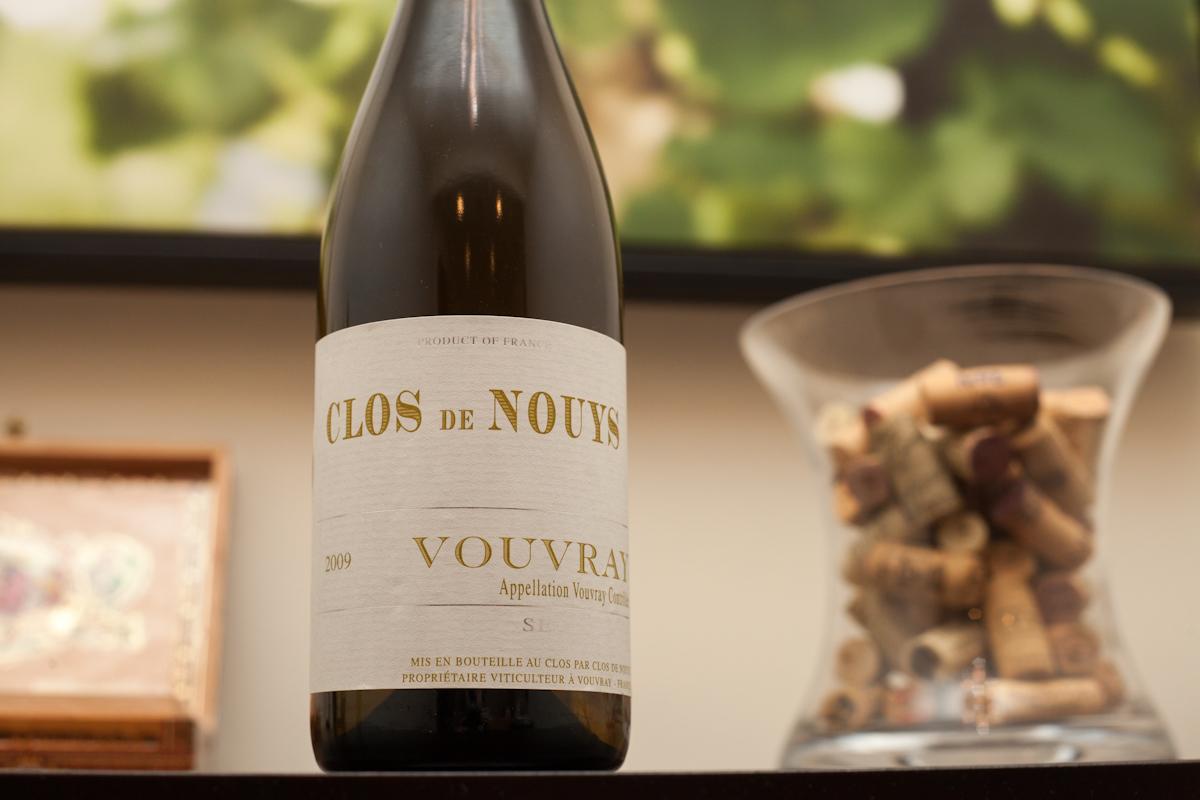 2009 Clos de Nouys Vouvray (Chenin Blanc wine)