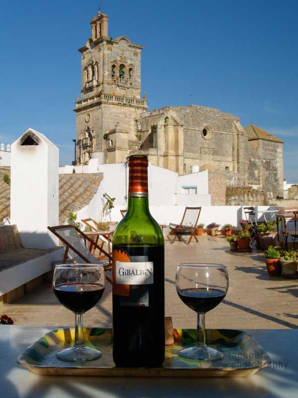 Gibalbín wine, Arcos de la Frontera, Bodegas Barbadillo