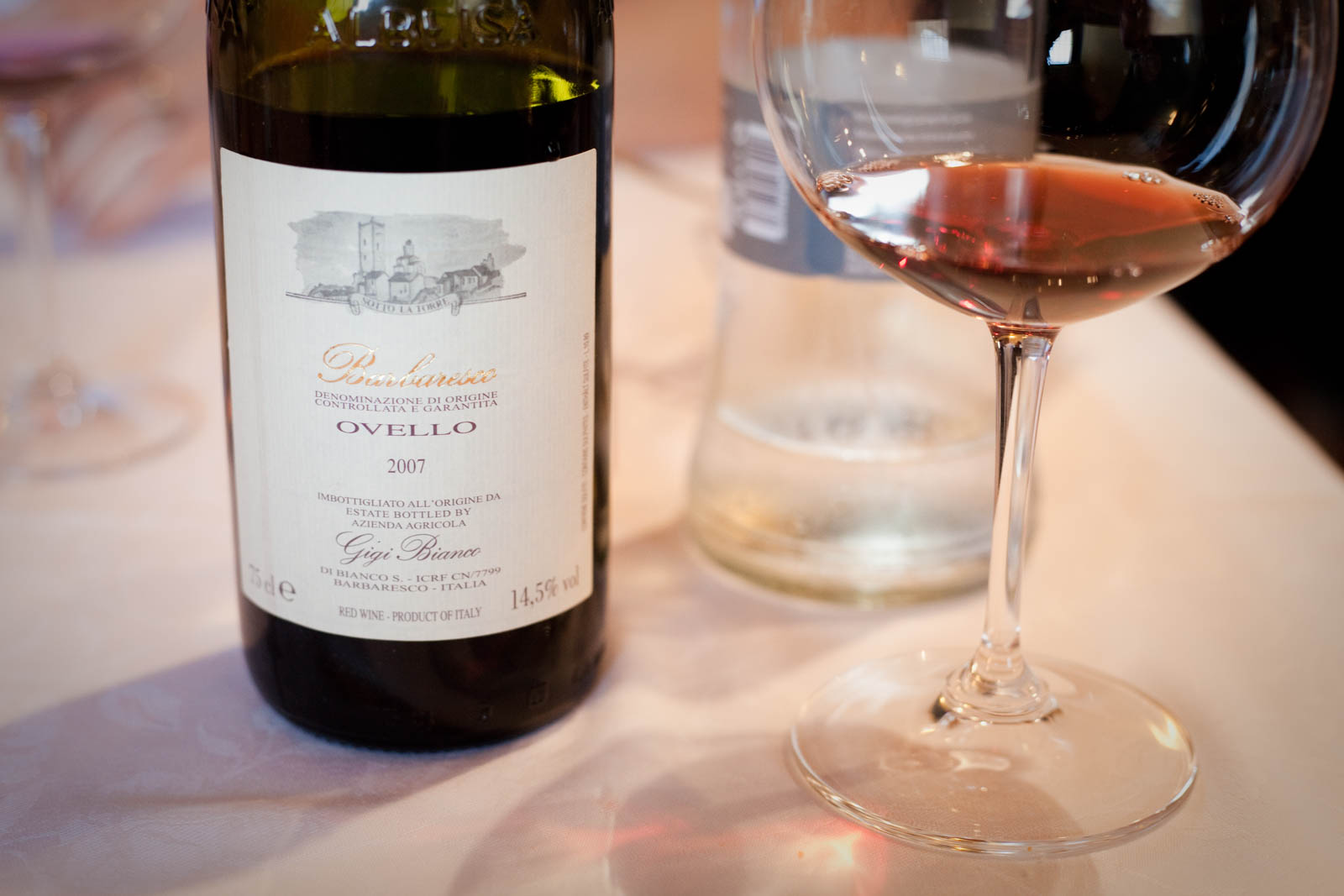 "©Kevin Day / 2007 Gigi Bianco Barbaresco ""Ovello"""