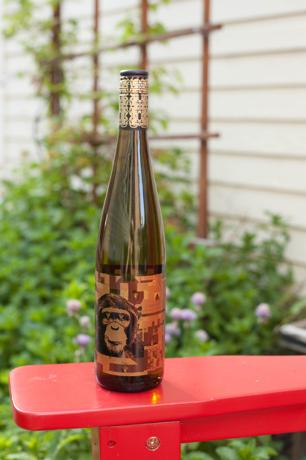 2013 Infinite Monkey Theorem Riesling, Colorado wine