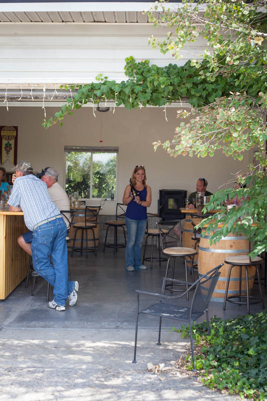 Hermosa Vineyard tasting room in Palisade
