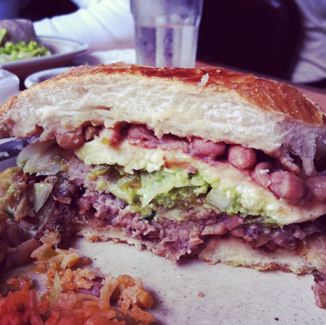 torta sandwich from Libby's, Philo, CA