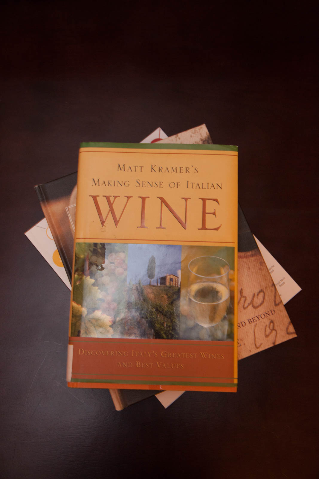 """Making Sense of Italian Wine"" by Matt Kramer"