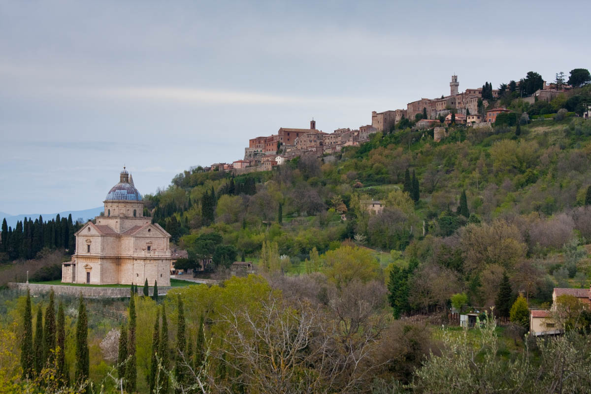 The commune of Montepulciano