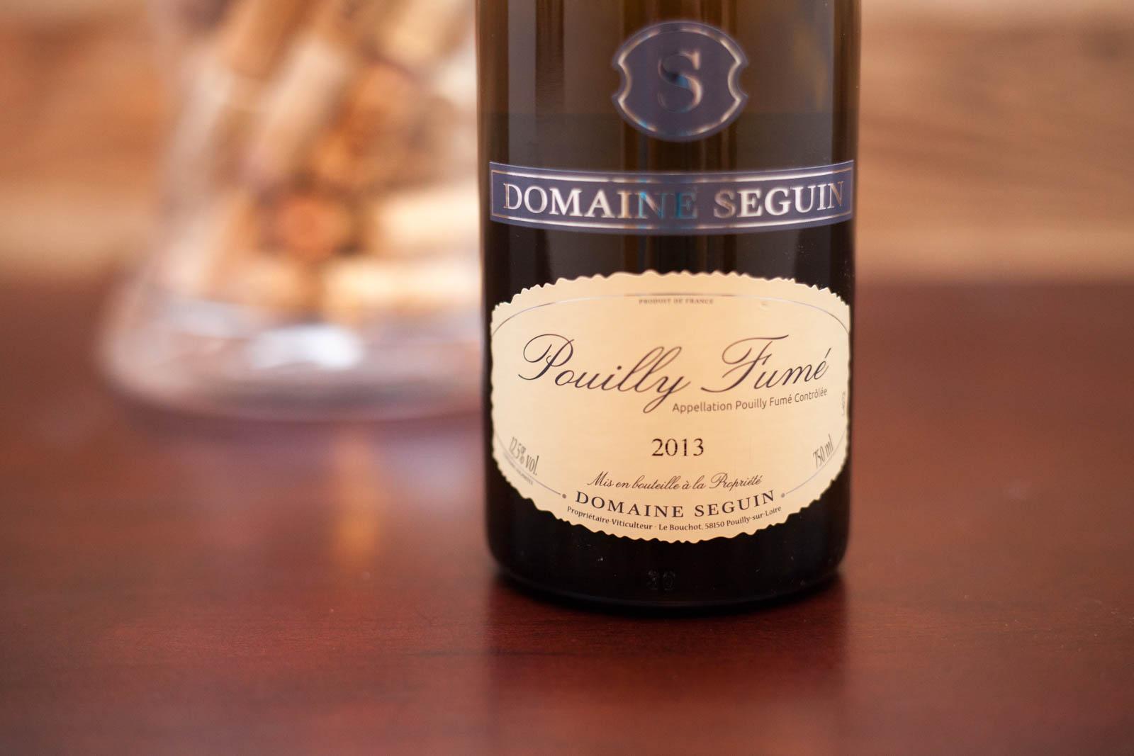 2013 Domaine Seguin Pouilly Fumé