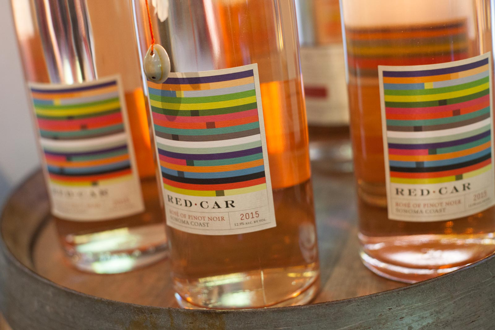 Rosé from Red Car Wines ©Kevin Day / Opening a Bottle