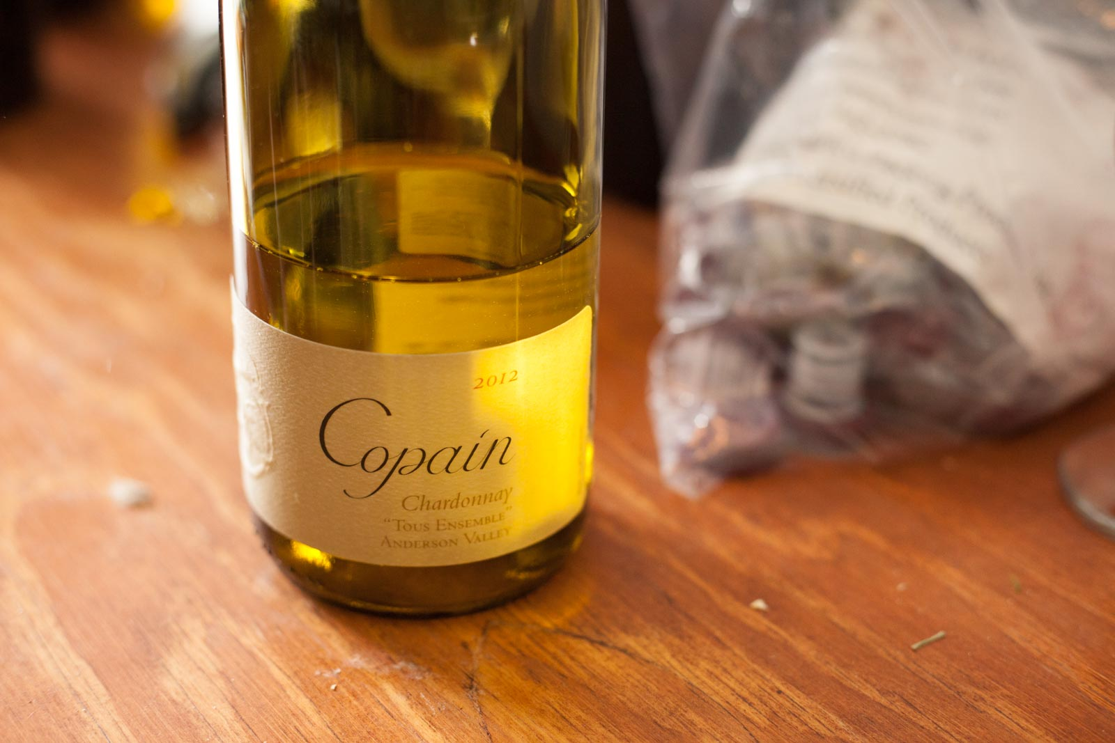 One of the many times a bottle of Copain appeared before me: at the hedonistic bacchanal of the Aspen Food & Wine Classic in 2014. ©Kevin Day / Opening a Bottle