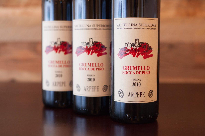 """2010 ARPEPE Grumello """"Rocca de Piro"""" Valtellina Superiore Riserva"""