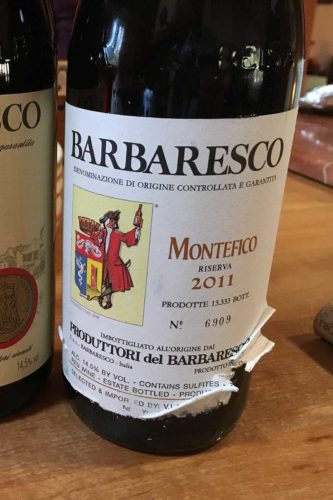 """2011 Produttori del Barbaresco """"Montefico"""" Riserva"""