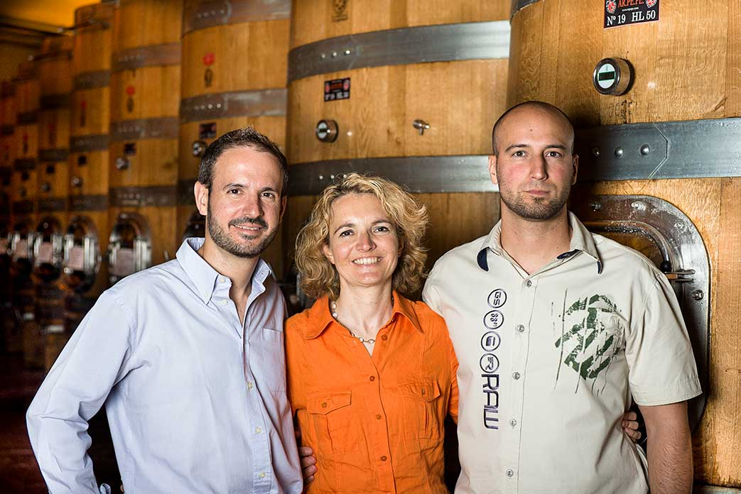 Guido, Isabella and Emanuele now manage ARPEPE. © ARPEPE