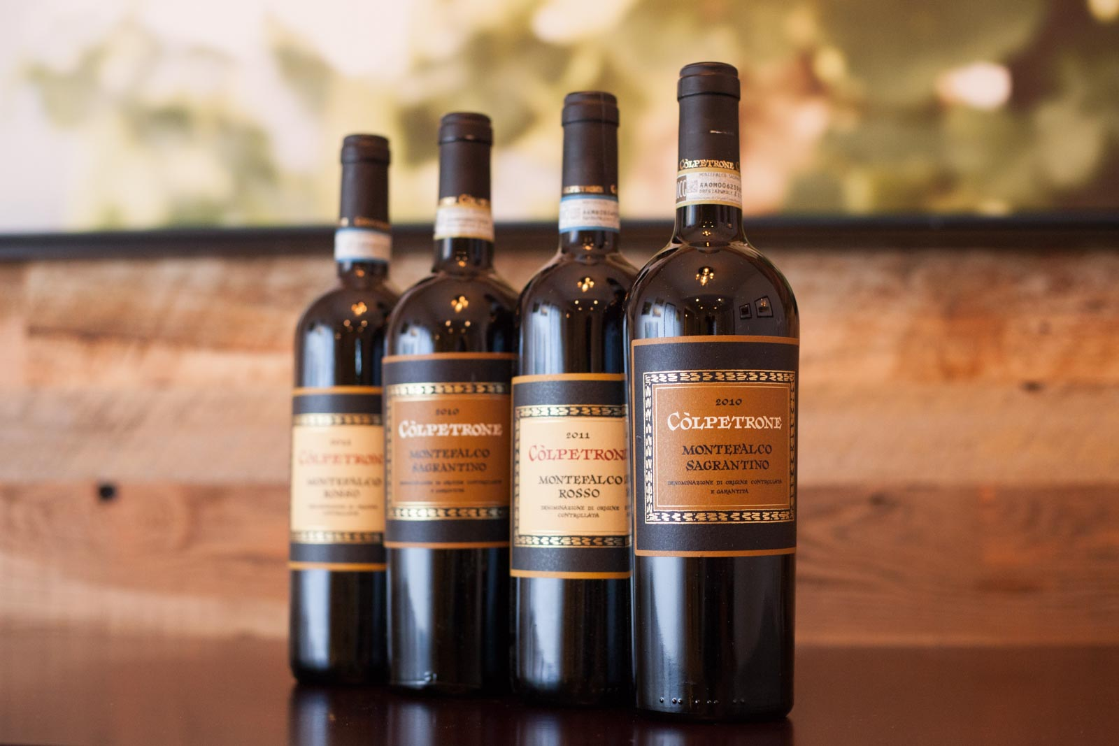 2010 Còlpetrone Montefalco Sagrantino and 2010 Còlpetrone Montefalco Rosso