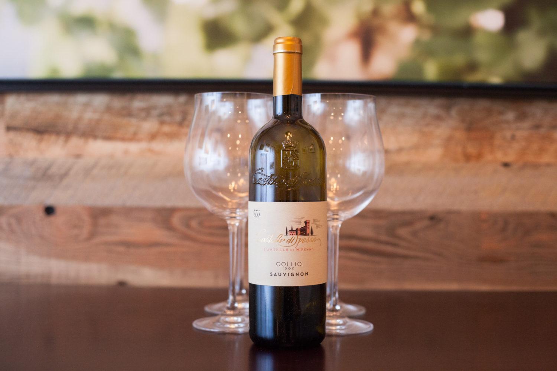 2015 Castello di Spessa Sauvignon ©Kevin Day / Opening a Bottle