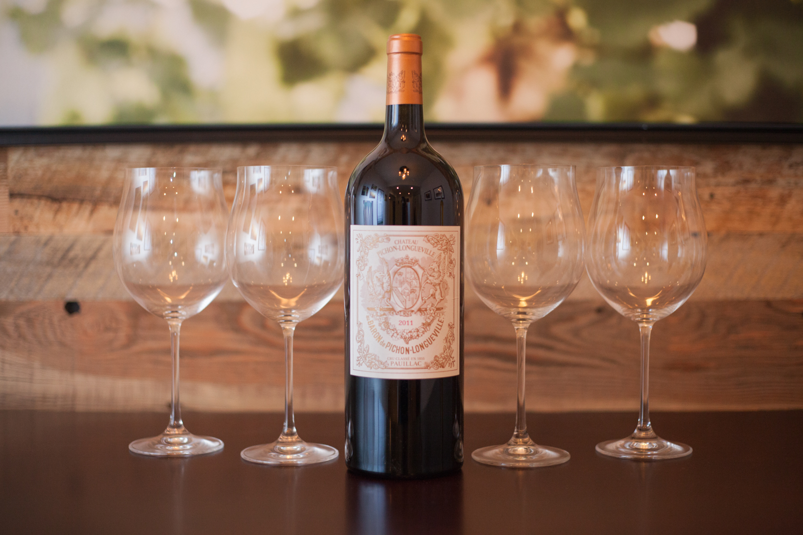 A magnum of the 2011 Château Pichon-Longueville Pauillac. ©Kevin Day / Opening a Bottle