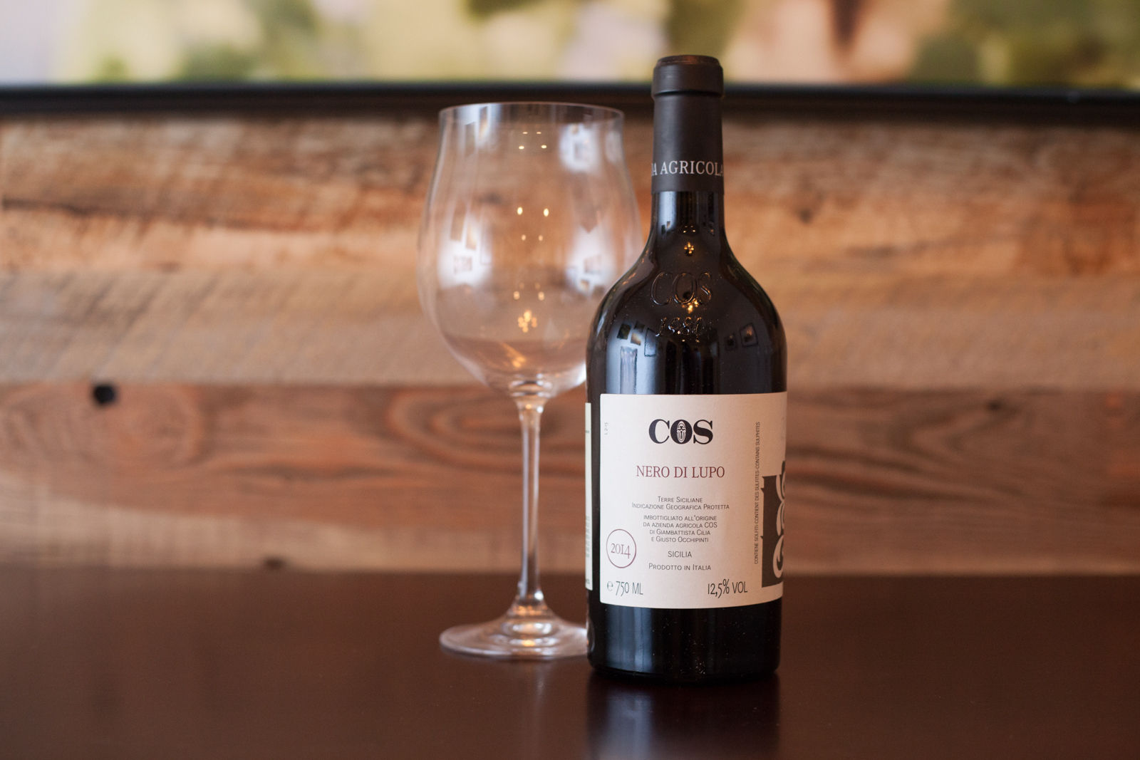 2014 Azienda Agricola COS Nero di Lupo ©Kevin Day / Opening a Bottle