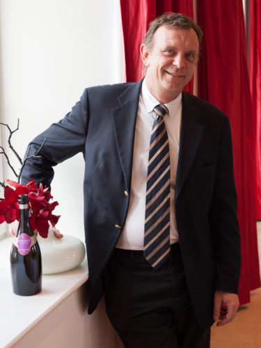 Odilon de Varine, Deputy Managing Director at Champagne Gosset. ©Kevin Day / Opening a Bottle