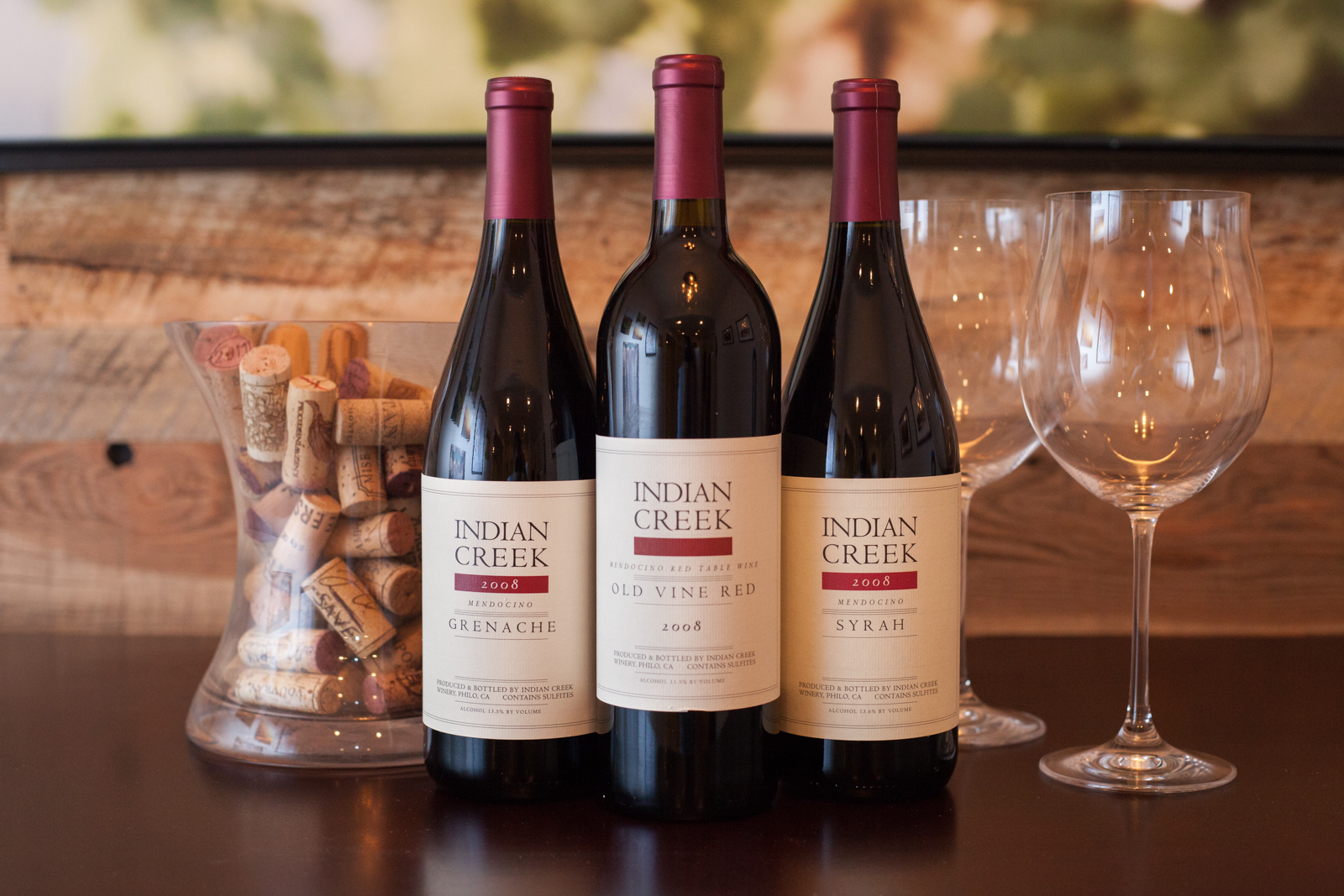 "Navarro Vineyard's Indian Creek ""Lightning Strike"" Sampler"
