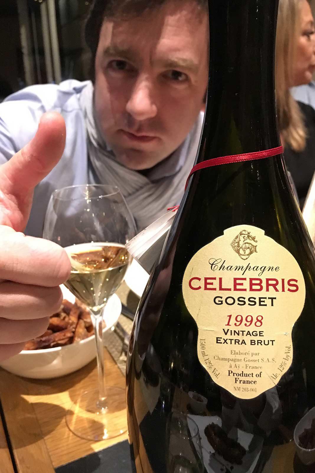 1998 Champagne Gosset Celebris Extra Brut ©Kevin Day/Opening a Bottle