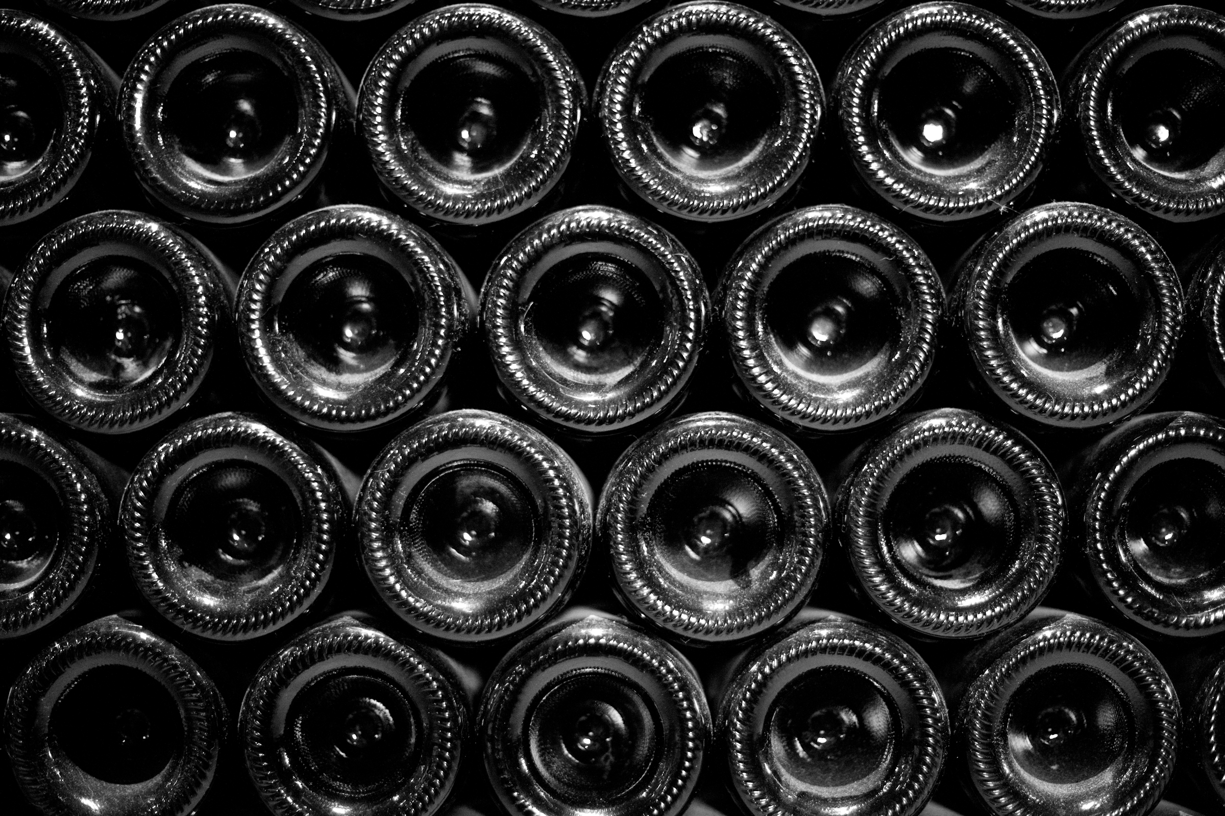 Barbaresco wine bottles