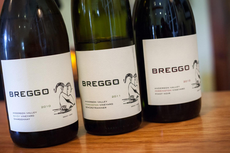 Breggo Winery tasting room, Boonville, CA