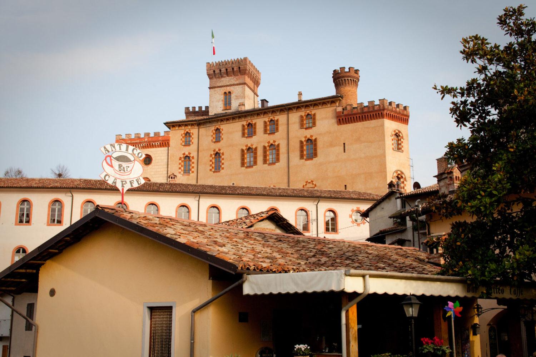 Castle in Barolo, Piedmont, Italy