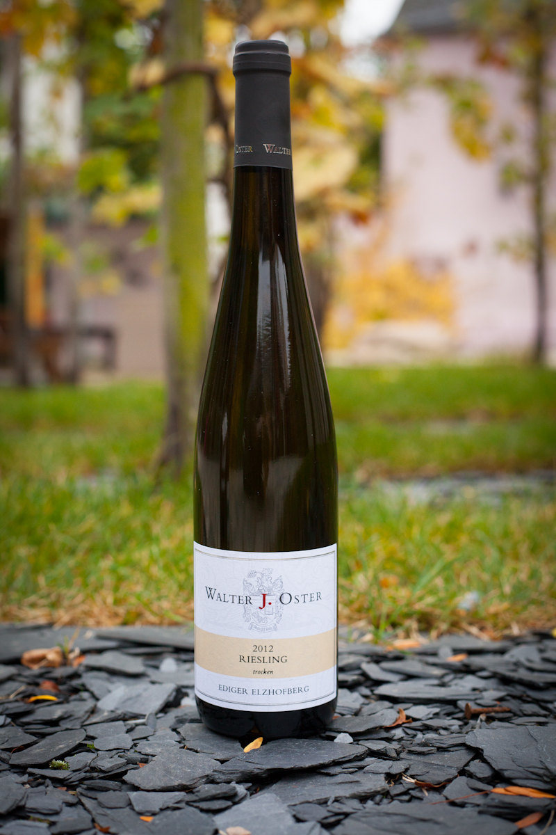 Walter J. Oster Ediger Elzhofberg Riesling