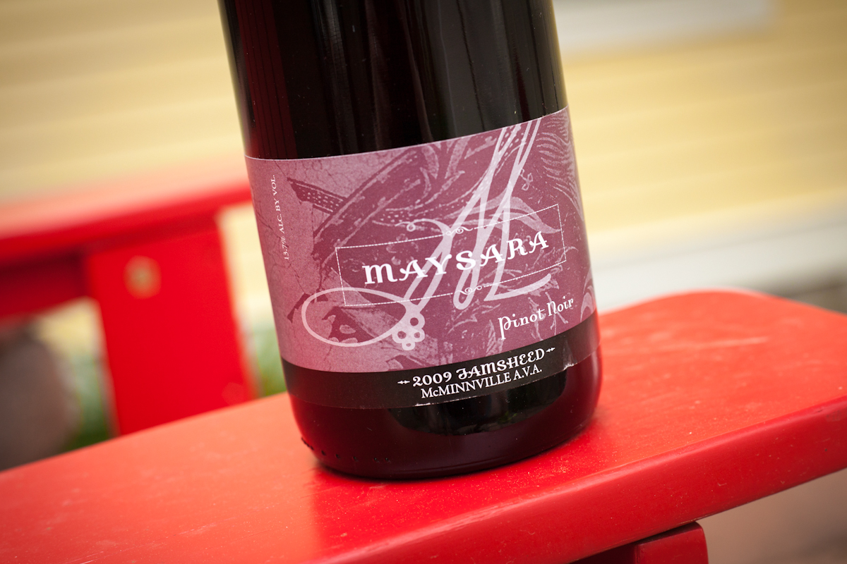 Maysara Pinot Noir Jamsheed, Willamette Valley, Oregon