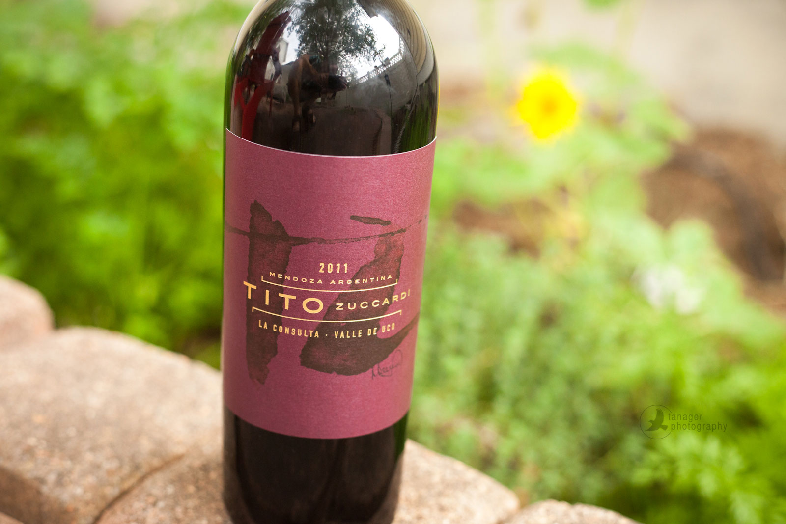 2011 Zuccardi Tito Red Blend Malbec, red wine