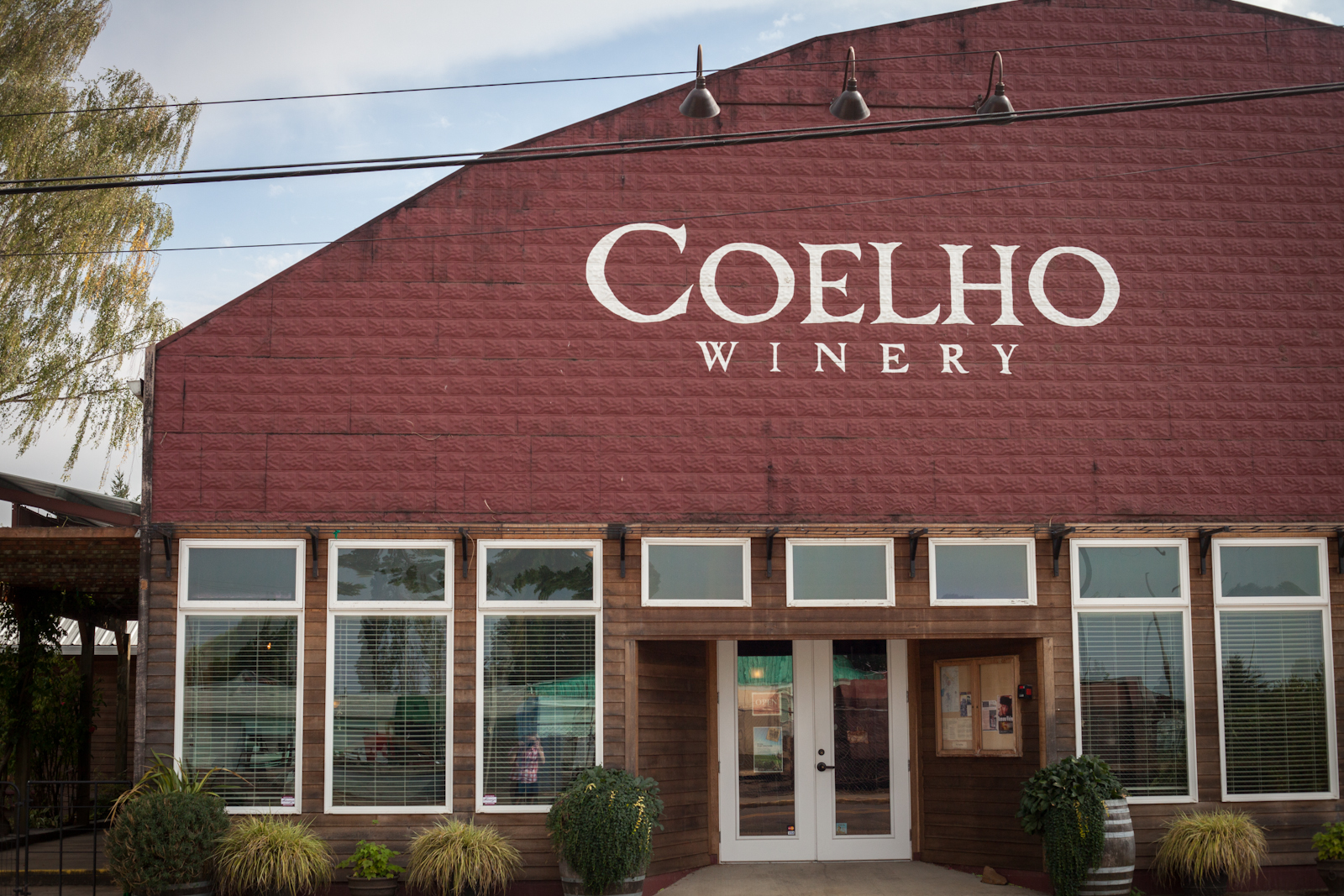 Coelho Winery in Amity, Oregon