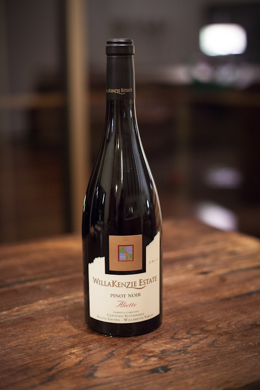 WillaKenzie Estate Pinot Noir Aliette