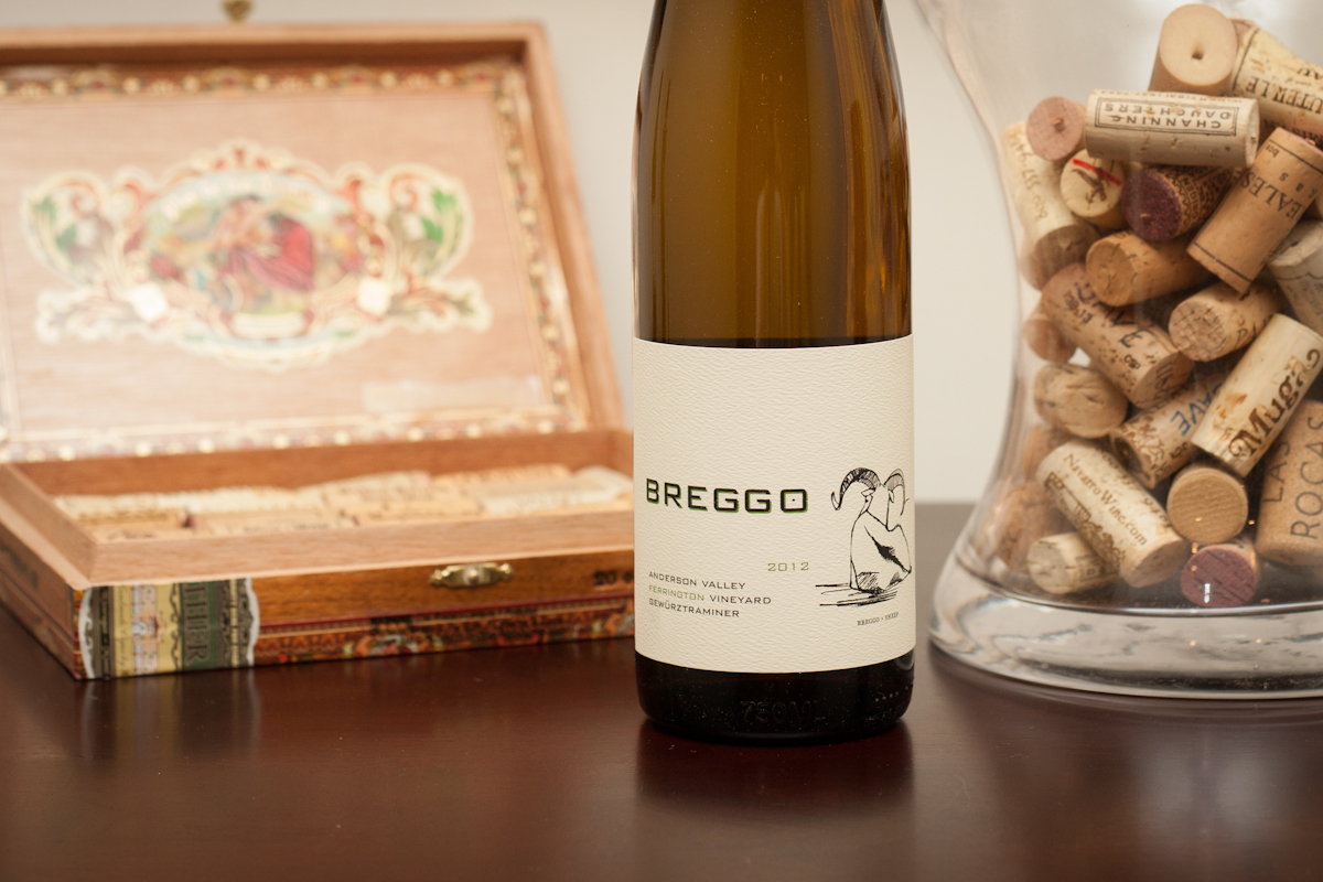 2010 Breggo Cellars Ferrington Vineyard Gewürztraminer