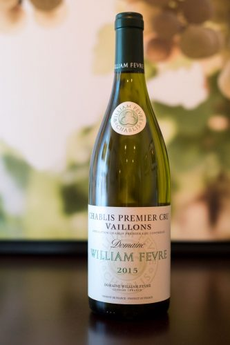 2015 Domaine William Fevre Chablis Premier Cru Vaillons ©Kevin Day/Opening a Bottle