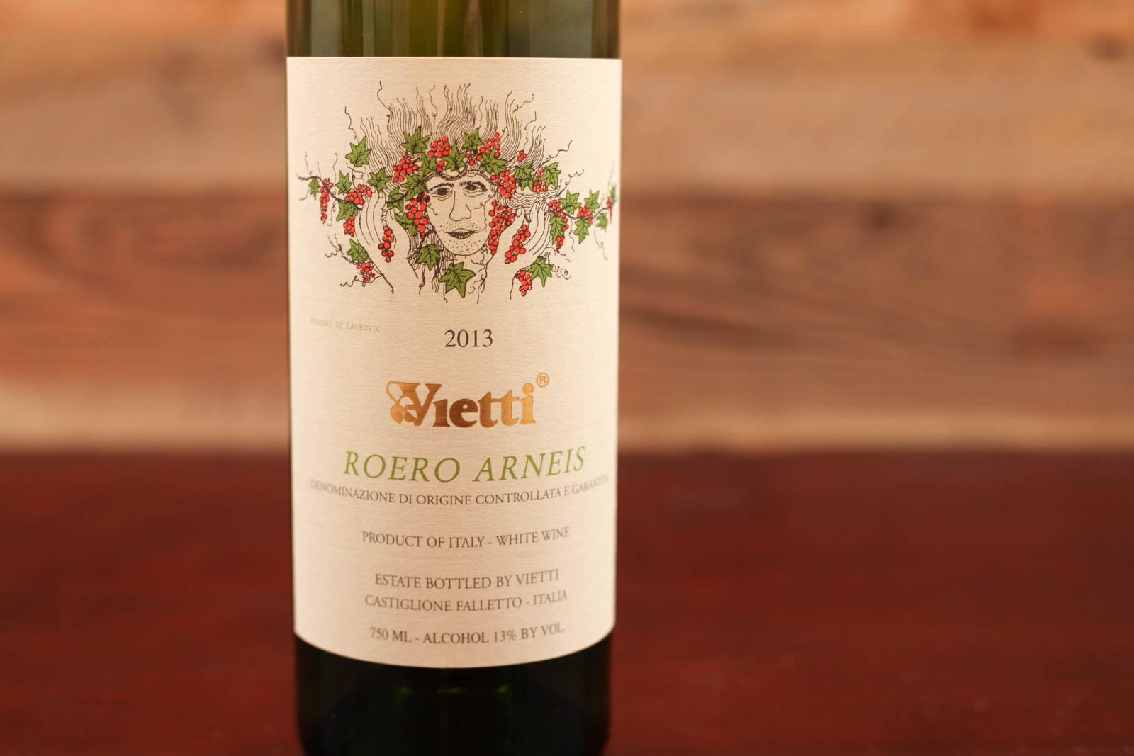 2013 Vietti Roero Arneis ©Kevin Day/Opening a Bottle