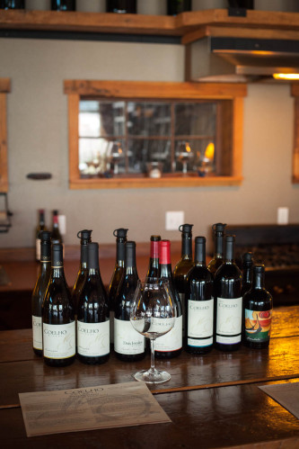 One of the best tasting room experiences I had was at Coelho Winery in Oregon, where they provided just enough information on their wine to provide context, without dictating taste. ©Kevin Day/Opening a Bottle