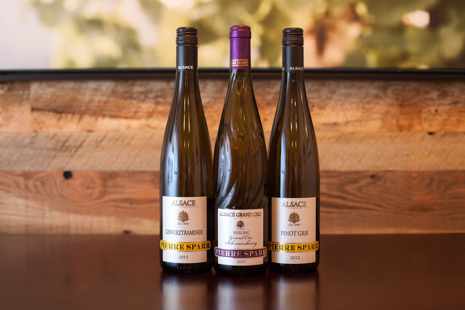 The wines of Pierre Sparr of Alsace