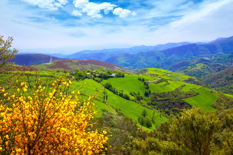 Mountains of Galicia, Spain