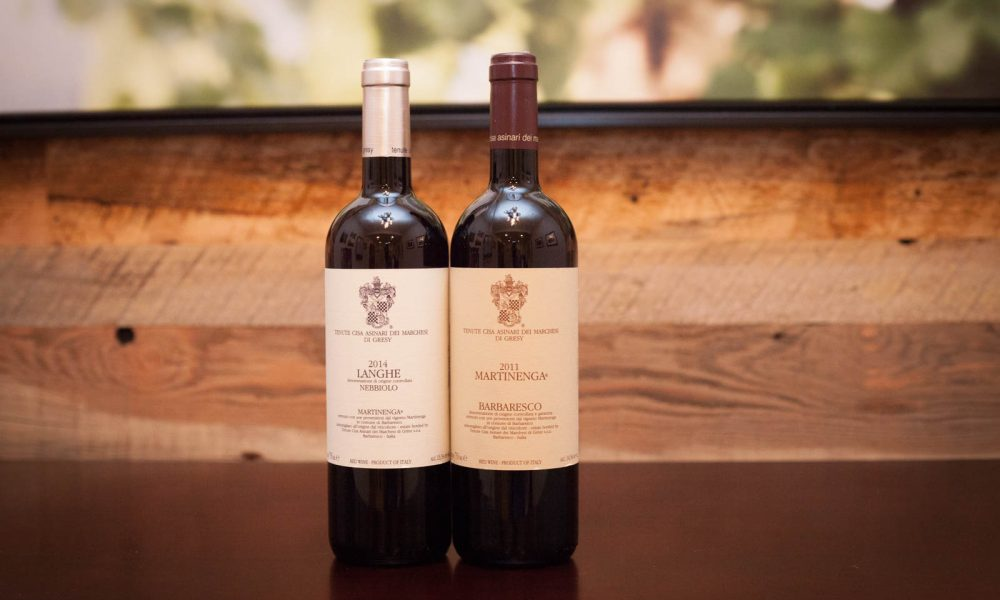 "2011 Marchesi di Gresy ""Martinenga"" Barbaresco and 2014 Marchesi di Gresy Langhe Nebbiolo"