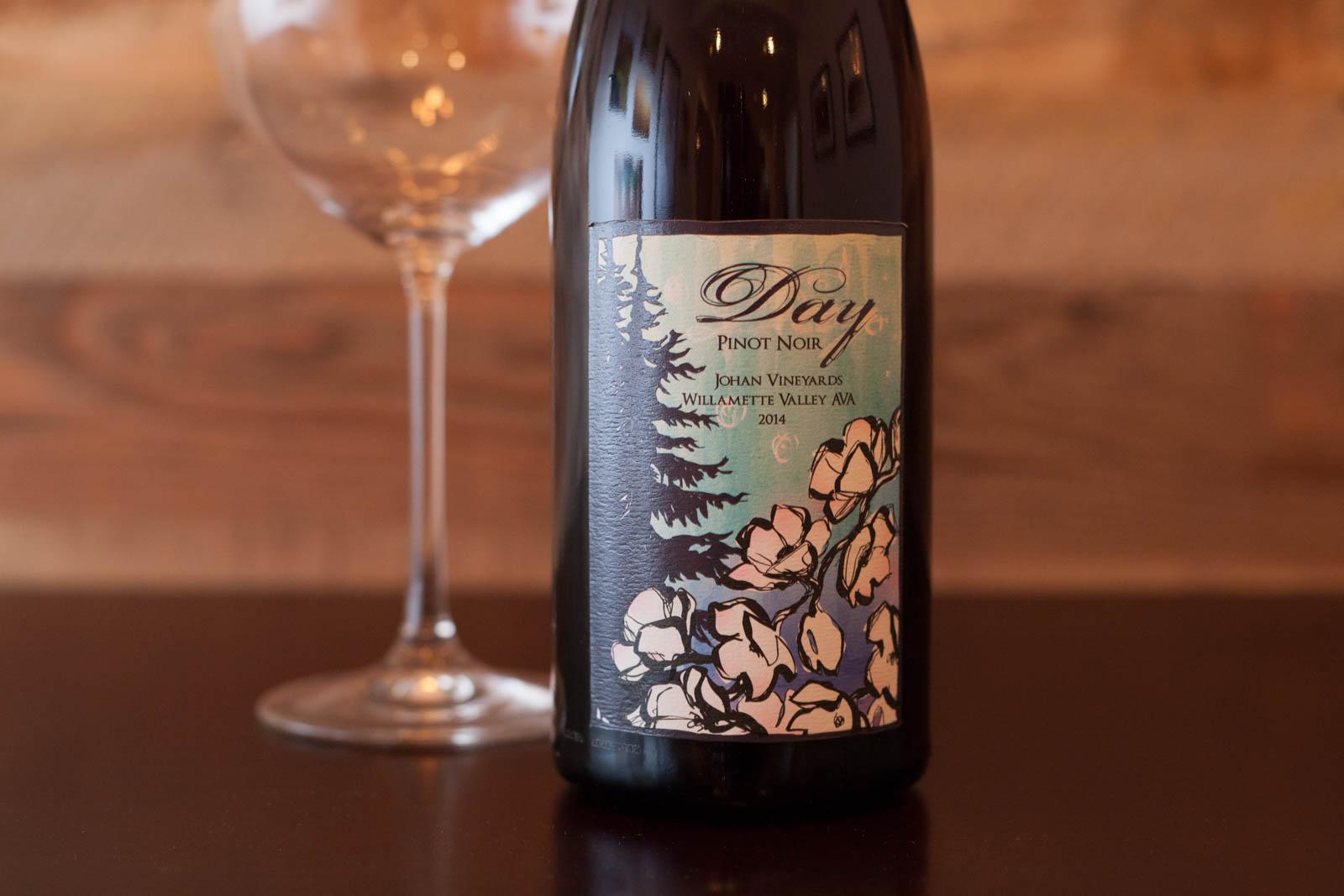 "Day Wines ""Johan Vineyard"" Pinot Noir"