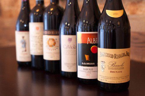 Piedmont Wine Tasting Report