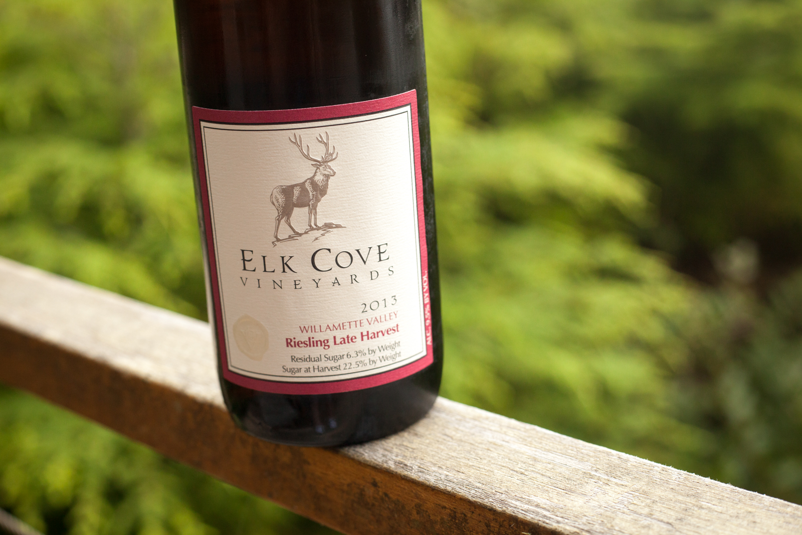 Elk Cove Late-Harvest Riesling ©Kevin Day / Opening a Bottle
