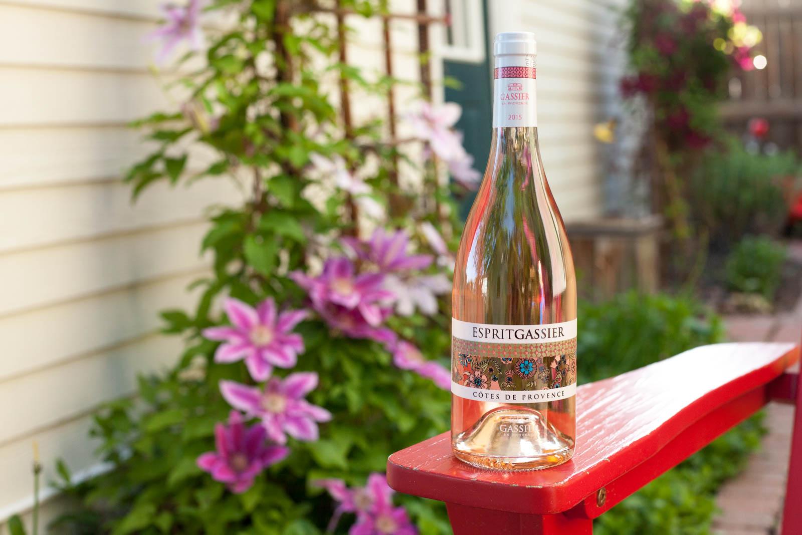 2015 Esprit Gassier Rosé Cotes de Provence ©Kevin Day