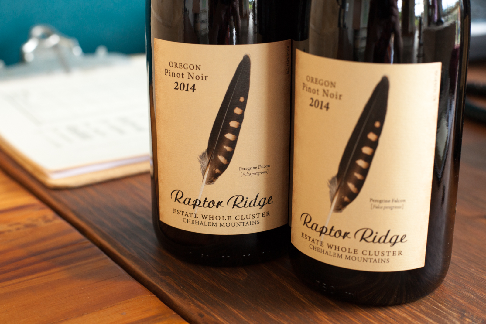 Wines of Raptor Ridge Winery ©Kevin Day/Opening a Bottle