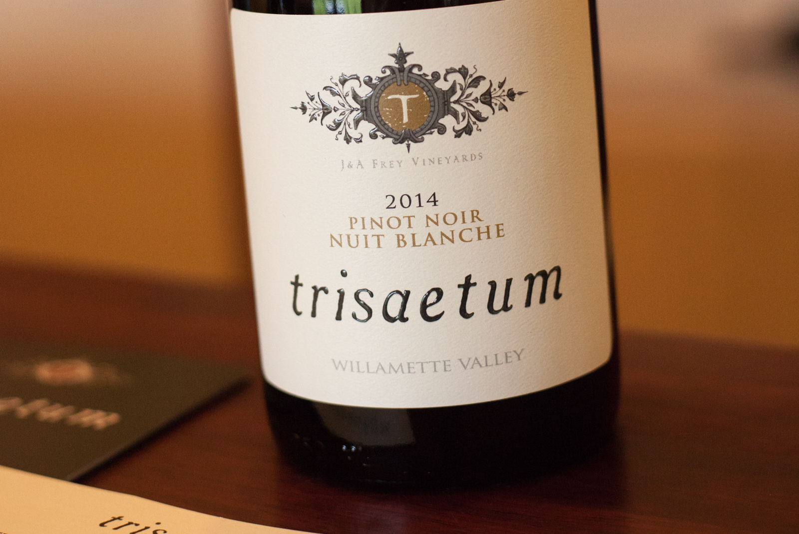 Trisaetum Blanc de Pinot Noir ©Kevin Day/Opening a Bottle