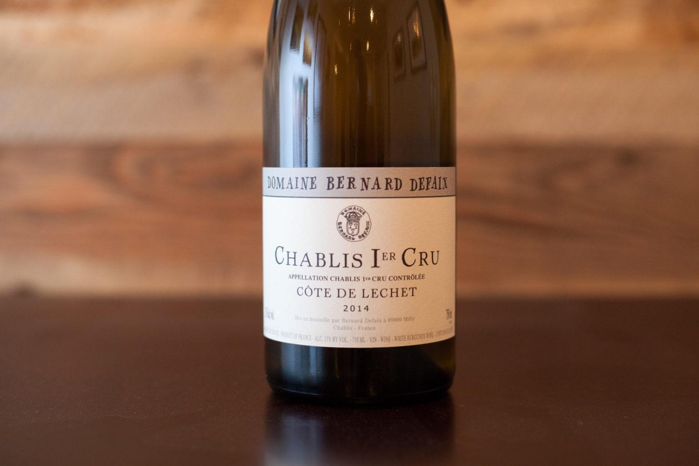 A 1er Cru Chablis from Bernard Defaix