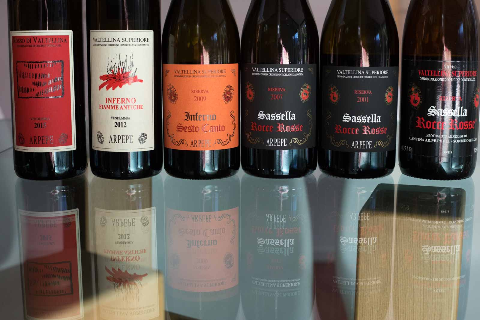 ARPEPE's wines ©Kevin Day/Opening a Bottle