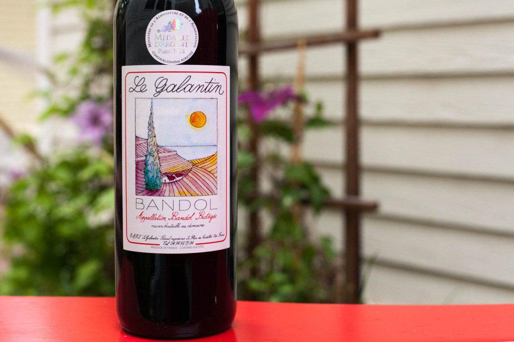 2011 Domaine de Le Galantin Bandol Rouge