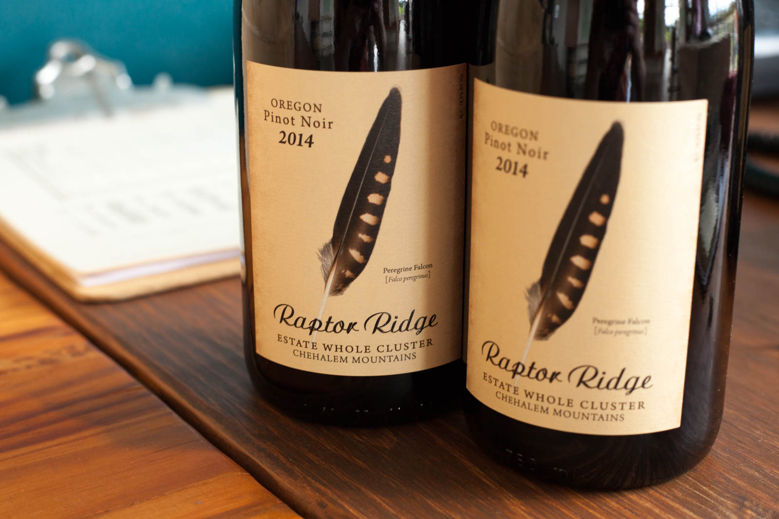 2014 Raptor Ridge Estate Whole Cluster Pinot Noir